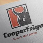 Logo design for CooperFrigu beef exoprt